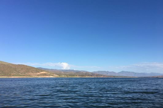 Roosevelt lake in Arizona
